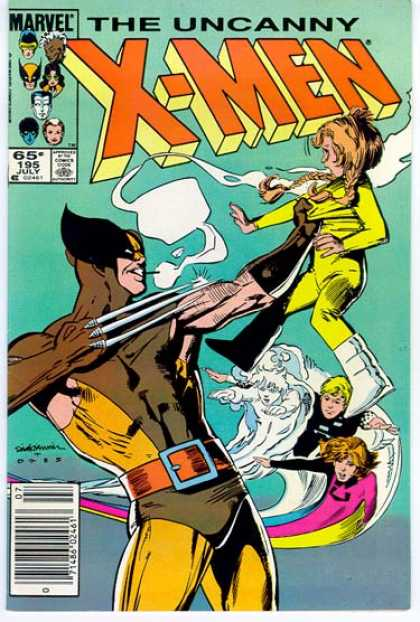 Uncanny X-Men 195 - Wolverine - Girl - Child - Marvel Comics - Cyclops - Bill Sienkiewicz
