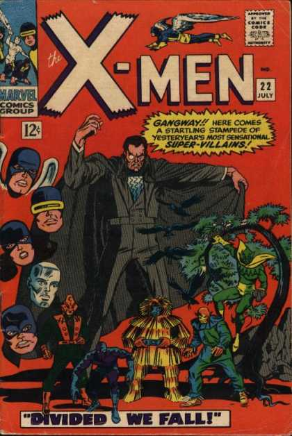 Uncanny X-Men 22 - Cape - Angel - Marvel - 12 Cents - July