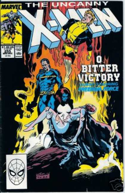 Uncanny X-Men 255 - Marvel - O Bitter Victory - 100us - Approved By The Comics Code Authority - Mask - Marc Silvestri