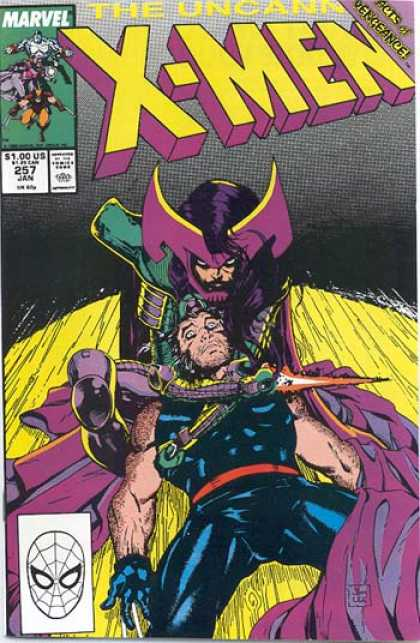 Uncanny X-Men 257 - Marvel Comics - Helmet - Wolverine - Blade - Belt - Jim Lee