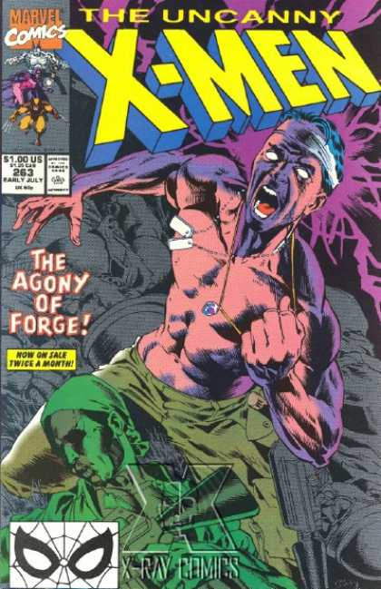 Uncanny X-Men 263 - X-men - The Uncanny X-men - The Agony Of Forge - X-ray Comics - Dog Tags