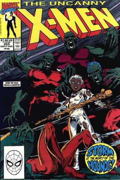 Uncanny X-Men 265 - Storm - Stick - Monster - Mutant - Marvel Comics - Andy Kubert