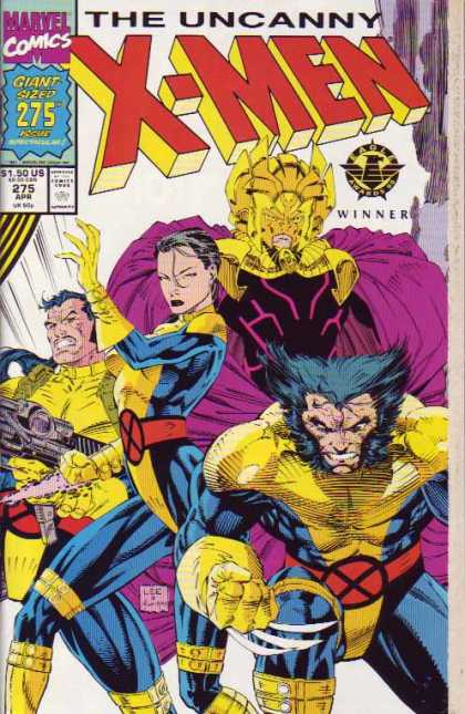 Uncanny X-Men 275 - Wolverine - Forge - Masks - Woman - Marvel - Jim Lee, Scott Williams