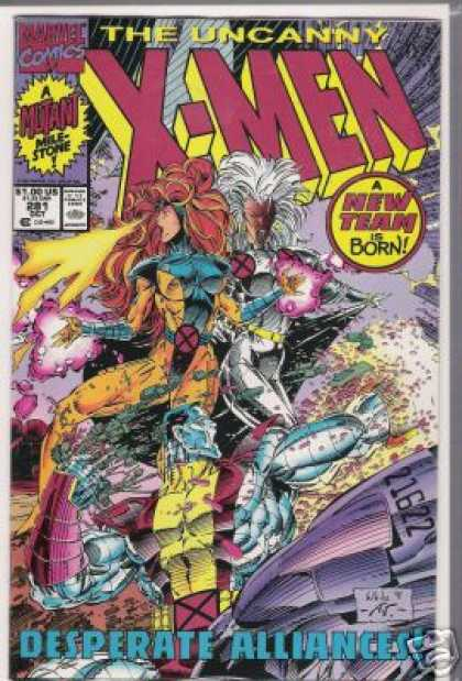 Uncanny X-Men 281 - Storm - Desperate Alliances - Jean Grey - Colosus - A New Team Is Born - Whilce Portacio