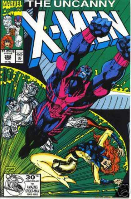 Uncanny X-Men 286 - Archangel - Marvel Comics - Storm - Mutant - Approved By Comics Code - Jim Lee