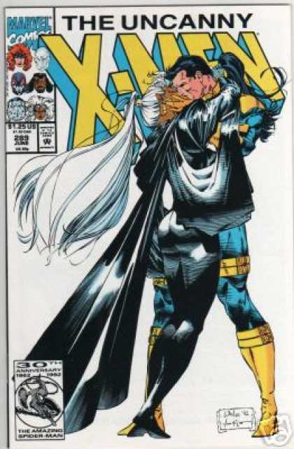 Uncanny X-Men 289 - Kiss - Storm - Forge - Marvel - Woman - Whilce Portacio