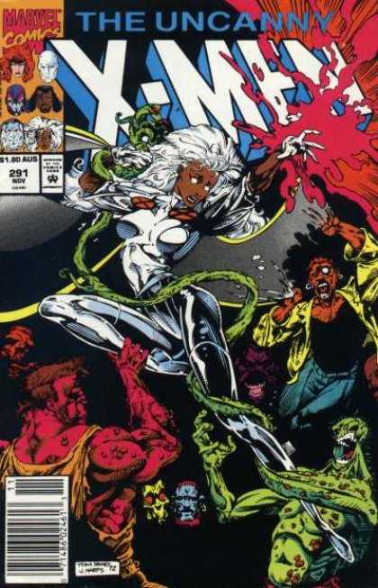Uncanny X-Men 291 - Storm - Tom Raney