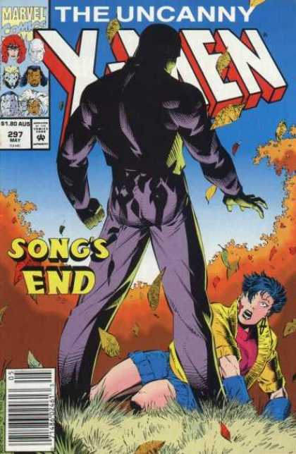 Uncanny X-Men 297 - Songs End - Windy Trees - Man In Suit - May 297 - Marvel Comics - Brandon Peterson, Dan Panosian
