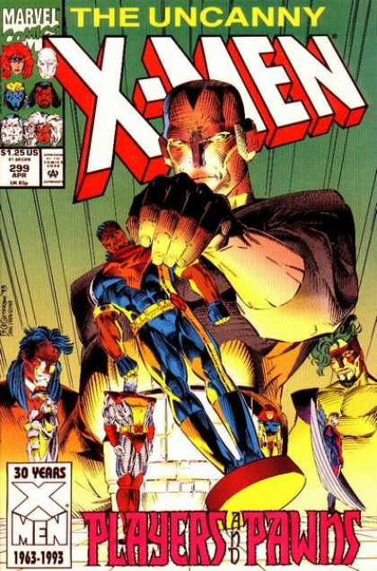 Uncanny X-Men 299 - Colossus - Angel - Chess - Bishop - Brandon Peterson, Dan Panosian