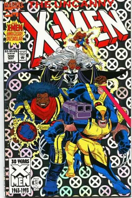 Uncanny X-Men 300 - Storm - Wolverine - Cyclops - Jean Grey - Bishop - John Romita