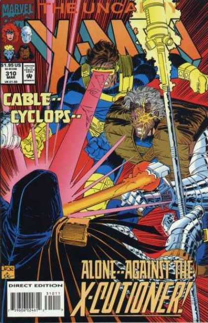 Uncanny X-Men 310 - Cyclops - Cable - X-cutioner - John Romita