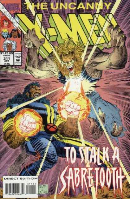 Uncanny X-Men 311 - Sabretooth - Bishop - John Romita