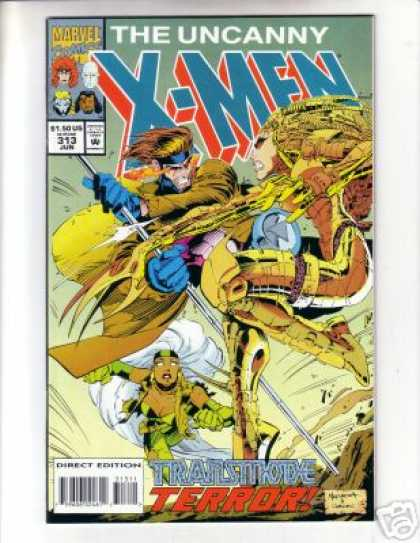 Uncanny X-Men 313 - Terror - Wolverine - X-men - Battle Between Wolverine And A Woman - Issue Number 313 - Joe Madureira