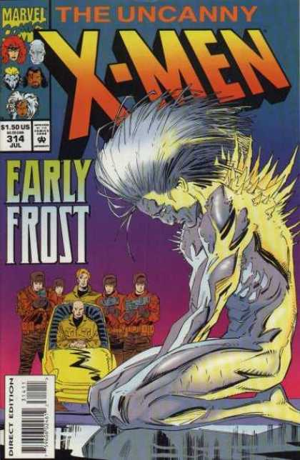 Uncanny X-Men 314 - The Uncanny - X-men - Early Frost - Direct Edition - Car