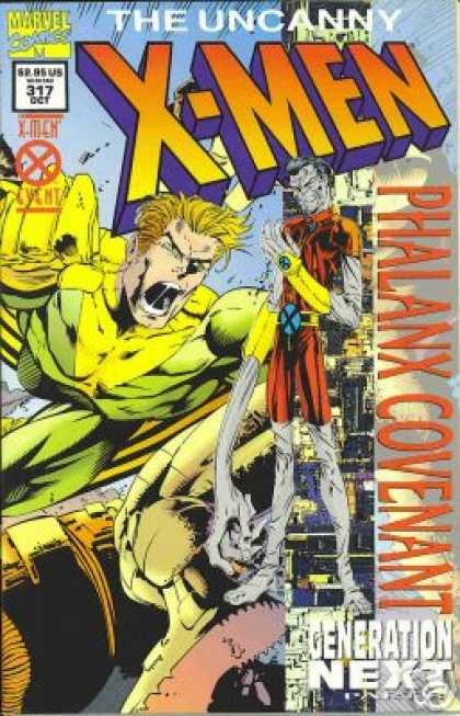 Uncanny X-Men 317 - Phalanx Covenant - Banshee - Marvel - Generation Next - Shouting - Joe Madureira