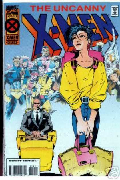Uncanny X-Men 318 - Bag - Storm - Cyclops - Wolverine - Jubilee - Joe Madureira