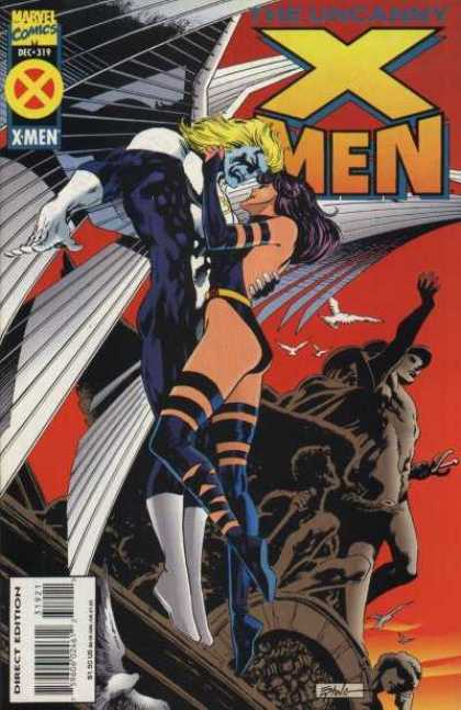 Uncanny X-Men 319 - Angel - Statue - Steve Epting