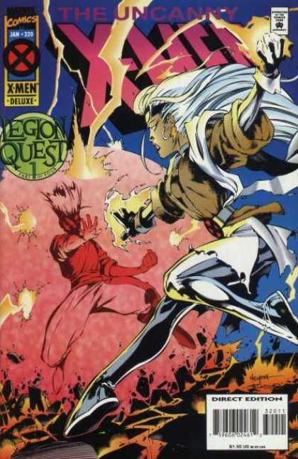 Uncanny X-Men 320 - Storm - Fight - Joe Madureira