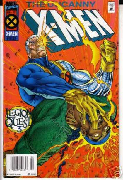 Uncanny X-Men 321 - Cable - Legion - Electricity - Thunderskull - The Power Of My Eye - Ron Garney