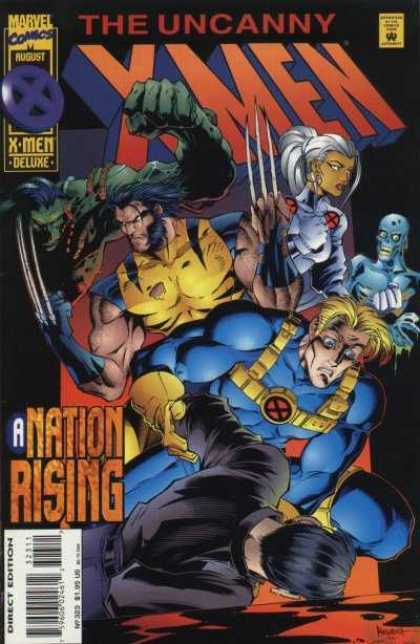 Uncanny X-Men 323 - Wolverine - Storm - A Nation Rising - X-men Deluxe - August - Joe Madureira