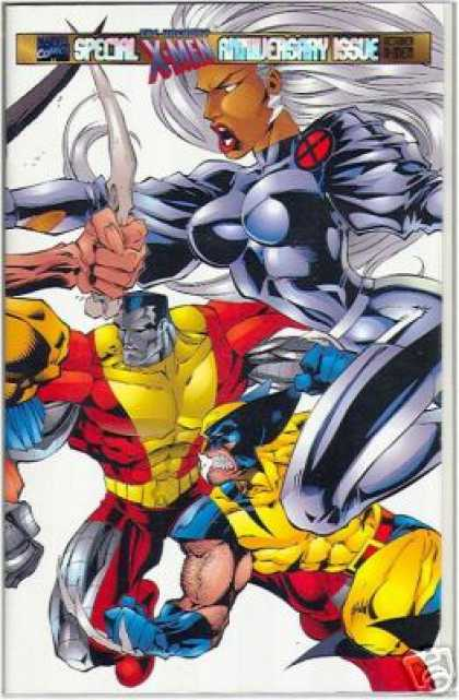 Uncanny X-Men 325 - Wolverine - Storm - Holo Cover - Colossus - Joe Madureira