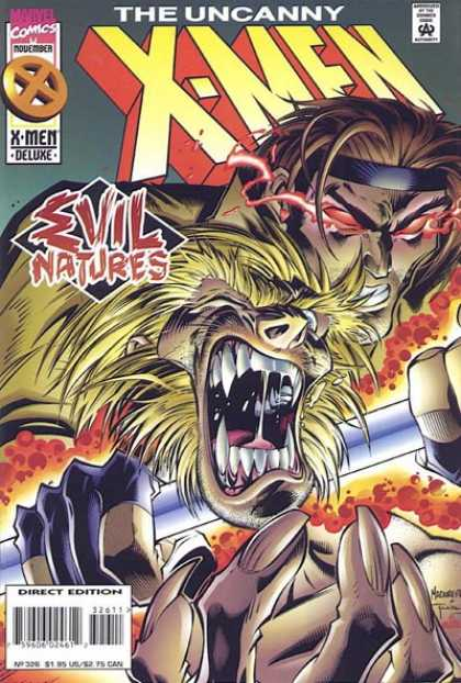 Uncanny X-Men 326 - Sabretooth - Gambit - Sabertooth - Deluxe - Evil Natures - Joe Madureira