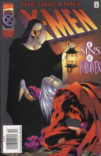 Uncanny X-Men 327 - Nun - Sins Be Forgiven - Light - Promise - Angel - Joe Madureira