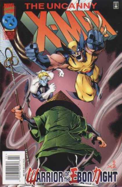Uncanny X-Men 329 - Warrior - Muscles - Fight - Hero - Blond - Joe Madureira