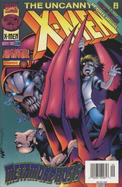 Uncanny X-Men 336 - Xmen - Heroes Reborn - Marvel Comics - Onslaught Phase - Issue 22 - Joe Madureira