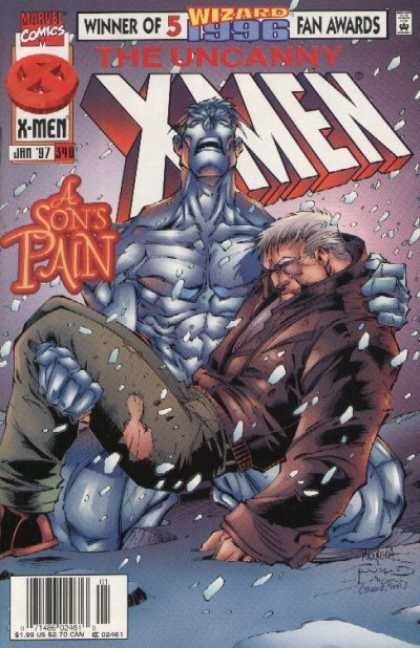 Uncanny X-Men 340 - Pain - Death - Iceman - Joe Madureira