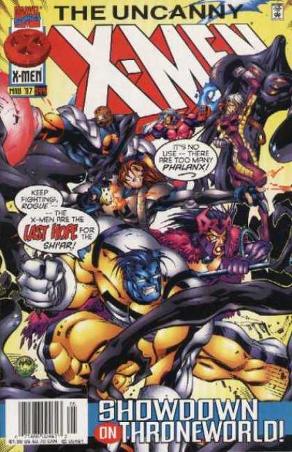 Uncanny X-Men 344 - Beast - Watch - Amazing One - Power - Wonderful - Joe Madureira