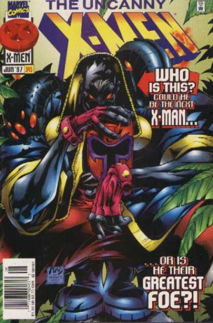 Uncanny X-Men 345 - Who Is This - Could He Be The Next X-men - Greatest Foe - Mad - Jun 97 - Joe Madureira