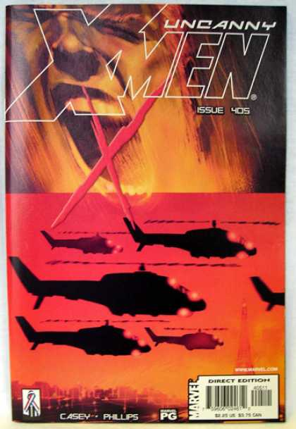 Uncanny X-Men 405 - Helicopters - Helicopter