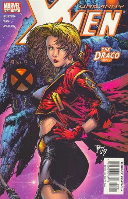 Uncanny X-Men 432 - Draco - Marvel - Woman - Space - The Draco - Philip Tan
