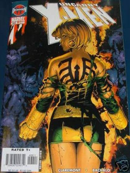 Uncanny X-Men 468 - Back - Legs - Lady - Skirt - Chris Bachalo