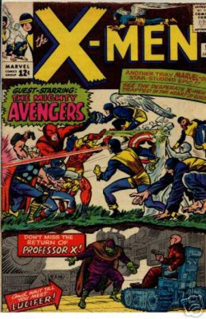 Uncanny X-Men 9 - Thor - Avengers - Professor X - Iron Man - Flash - Charles Stone, Jack Kirby