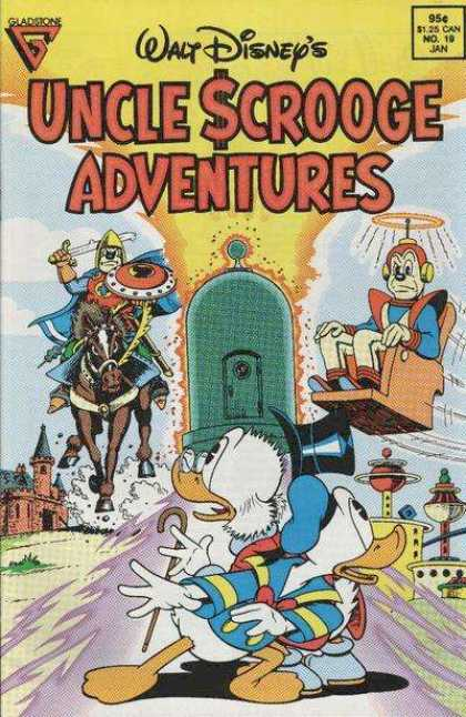 Uncle Scrooge Adventures 19 - Walt Disney - Donald Duck - Scrooge Mcduck - Knight - Time Travel