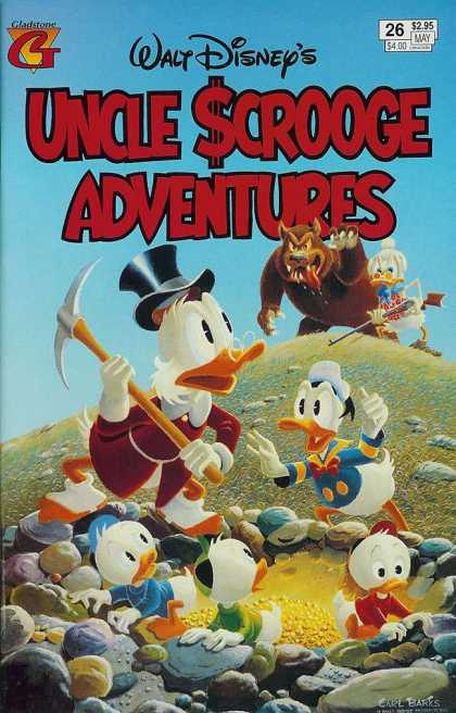 Uncle Scrooge Adventures 26 - Disney - Donald - Bear - Gladstone - May