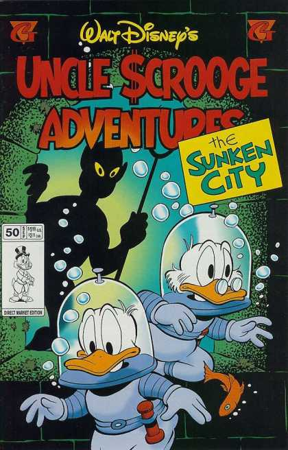 Uncle Scrooge Adventures 50 - Walt Disney - The Sunken City - Donald Duck - 50 Sep - Underwater
