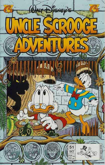 Uncle Scrooge Adventures 51 - Walr Disney - Duck - Tiger - Cage - Brilliants