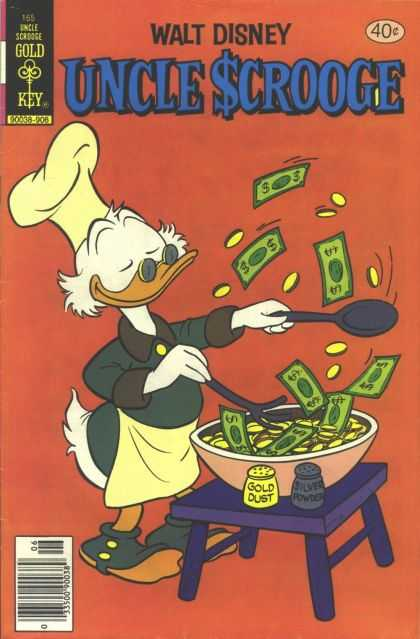 Uncle Scrooge 165 - Dollars - Change - Grilling - Spoon - Gold Dust