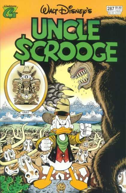 Uncle Scrooge 287 - Duck - Bear - Claws - Mountains - Old West
