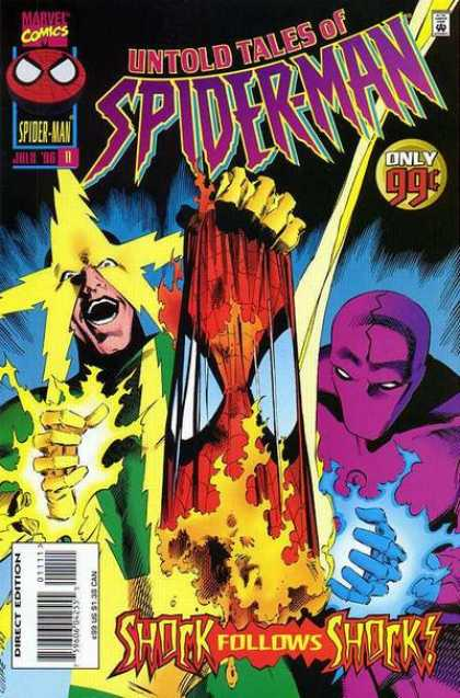 Untold Tales of Spider-Man 11 - 99 Cents - Marvel - Shock Follows Shock - Untold Tales - July 06