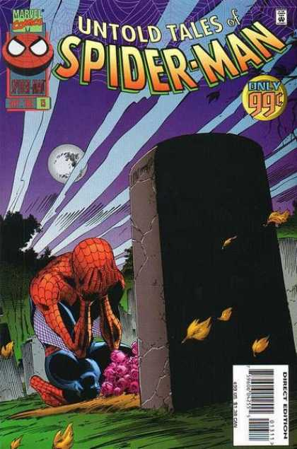 Untold Tales of Spider-Man 13 - Rip - Crying - Only 99c - Moon - Tree