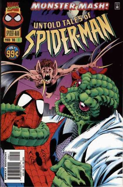 Untold Tales of Spider-Man 9 - Marvel - Monster Mash - 99 Cents - May - Superhero