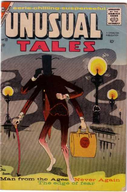Unusual Tales 10 - Man - Ages - Publication - Eerie - Suspenseful