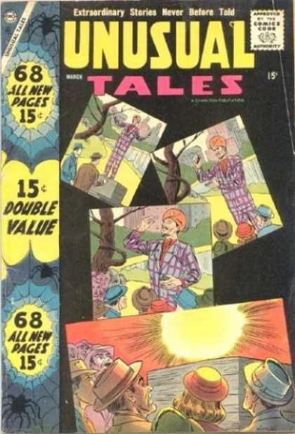 Unusual Tales 11 - All New Pages - Double Value - Sun - Tree - Hats