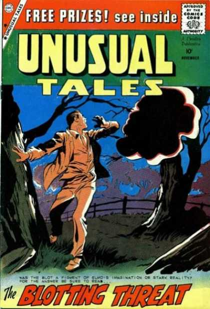 Unusual Tales 19 - Blotting Threat - Free Prizes - Imagination - Reality - Answer