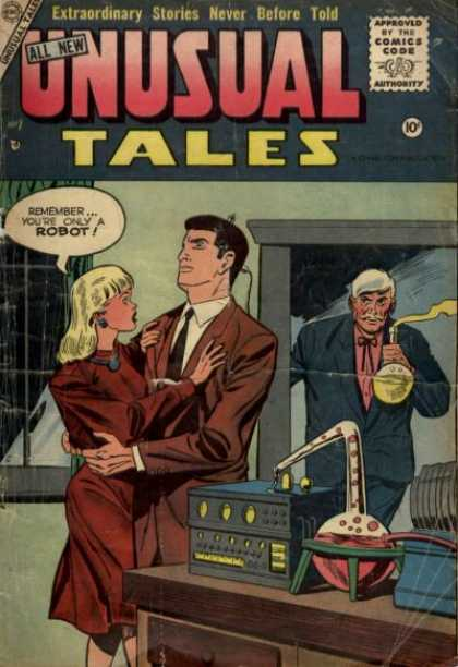 Unusual Tales 2 - Unusual Tales - Robots - Mad Scientist - Frankenstein - Mad Science