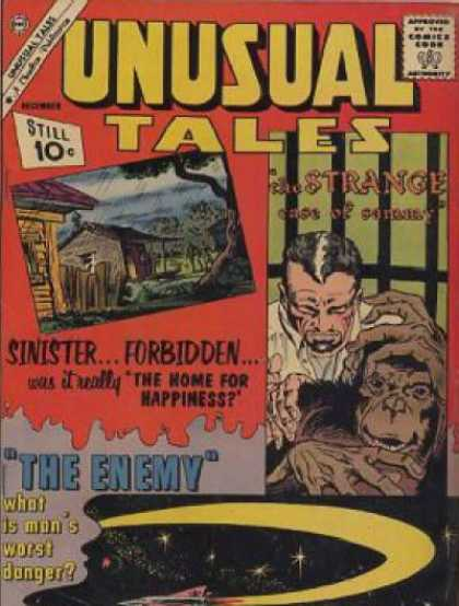 Unusual Tales 31 - Sinister - Forbidden - Home For Happiness - Chimpanzee - Strange